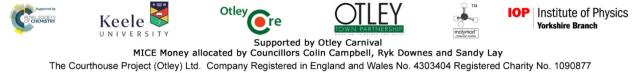Otley Science Festival sponsors