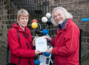 Molecule Trail prize to Sue Stanwell