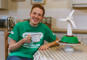 Andrew Smyth from Bake Off