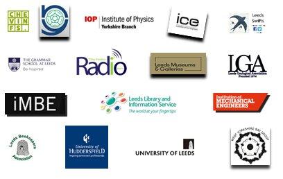 Science Fair participant logos